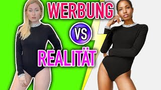 WERBUNG vs. REALITÄT - FASHION TRY ON HAUL | Sonny Loops