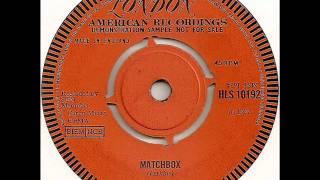 Watch Carl Perkins Matchbox video
