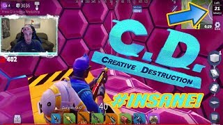 THE N1KE OF  CREATIVE DESTRUCTION! MY FAVORITE BR!