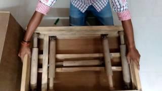 Đồ chơi bằng gỗ cho trẻ em của người thợ khéo tay