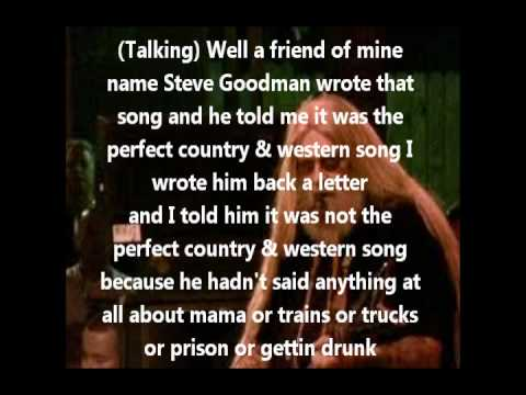 David Alan Coe - You Never Even Call Me by My Name