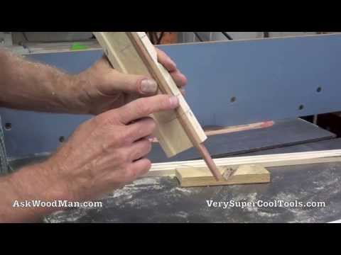 Drill Bit Sharpening • Do It Yourself - Making The Jig • Video 2 (UP