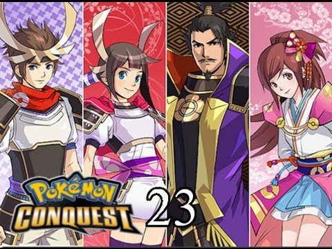 Pokemon Conquest Walkthrough #023: Battled Nene and Hideyoshi