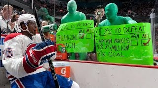 Top 5 Greatest Penalty Box Moments of All Time   NHL