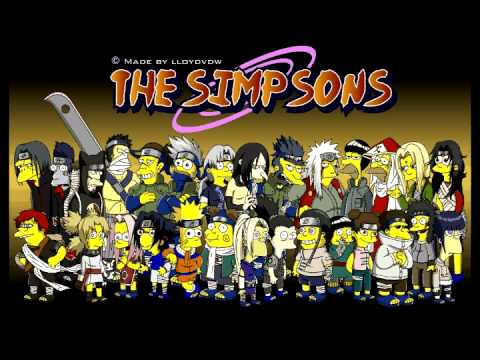 Naruto - The Simpsons (movie teaser)