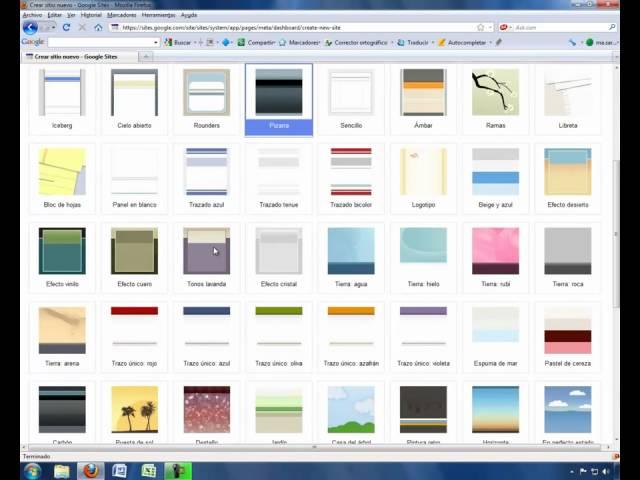 Cómo crear un sitio web con Google sites (Parte 1 de 4)