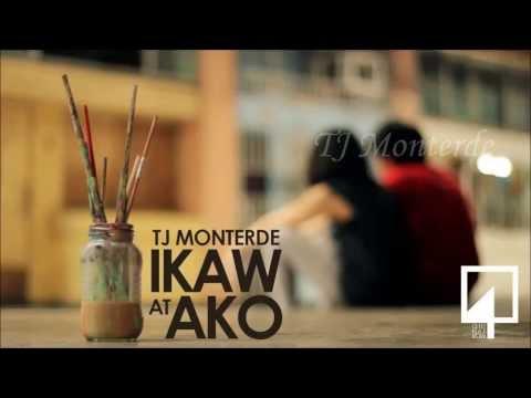 TJ Monterde - Ikaw at Ako [Lyrics Video]