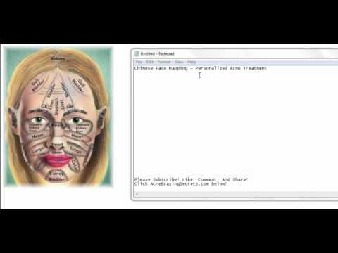 Face Mapping - Personalized Acne Treatment...