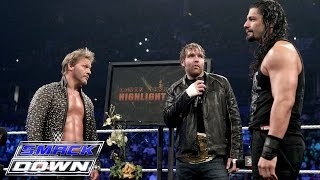 """""""The Highlight Reel"""" welcomes special guests Roman Reigns and Dean Ambrose: SmackDown, Jan. 28, 2016"""