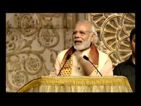 Prime Minister Narendra Modi addresses World Culture Festival