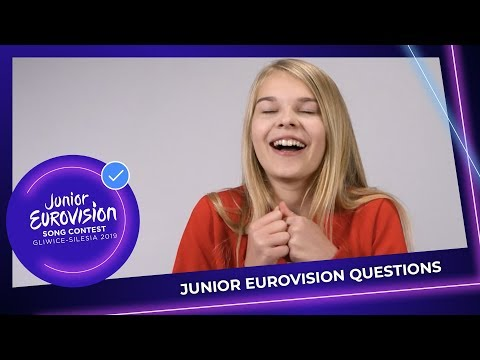 Junior Eurovision Questions: Do you have a lucky charm?
