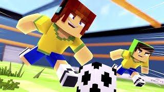 Minecraft : JOGO DE FUTEBOL !! - Aventuras Com Mods #63