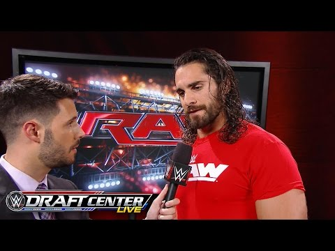 Seth Rollins becomes the first Superstar picked in the WWE Brand Extension Draft: July 19, 2016