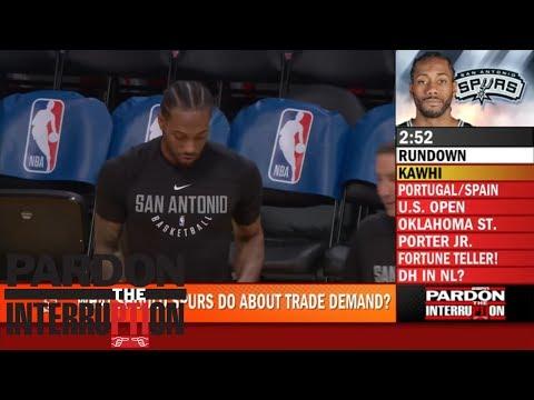 Mike Wilbon on Kawhi Leonard news What the hell are you doing?  Pardon the Interruption  ESPN