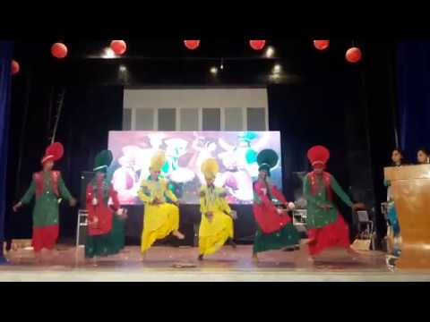 Marigold Public School Jalandhar | 10th Class Bhangra | Song Burrraahh Movie