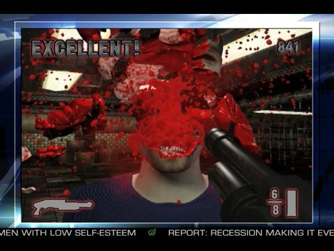 Video Game Consists Solely Of Shooting People In Face