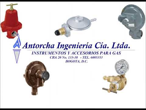 REGULADORES PARA GAS COLOMBIA