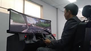 Mô hình tập lái xe ô tô 3d sắp có mặt trong trương trình giảng dạy