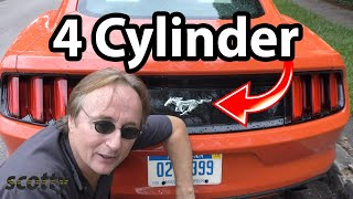4 Cylinder Ford Mustang - Car Review with Scotty Kilmer