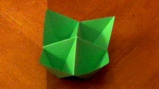 Origami Cootie Catcher/ Fortune Telling  - How To Make An Origami Cootie Catcher Aka Fortune Telling