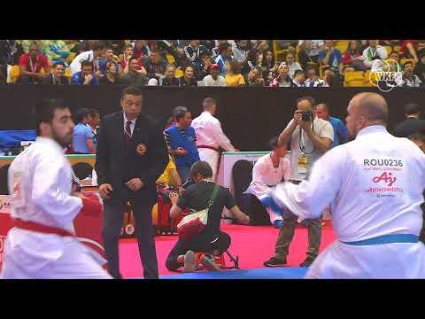 Demonstration of first-class Karate at Karate 1-Premier League Dubai