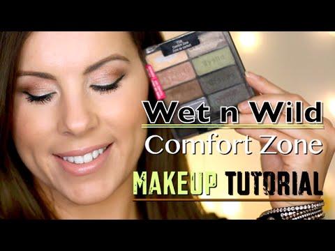 Wet n Wild Comfort Zone MAKEUP TUTORIAL