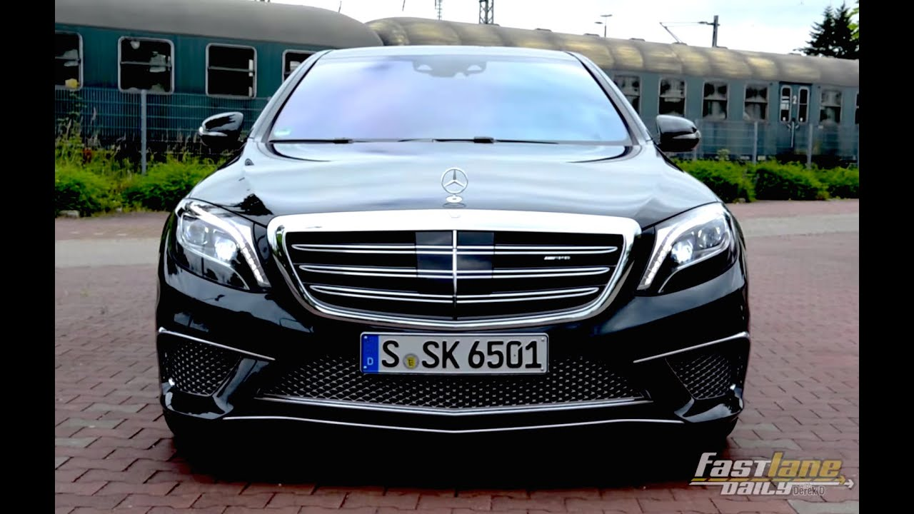2015 Mercedes Benz S65 Amg Review Fast Lane Daily Youtube
