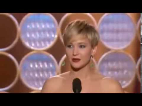 Jennifer Lawrence Acceptance Speech - Winner Golden Globe Awards 2014
