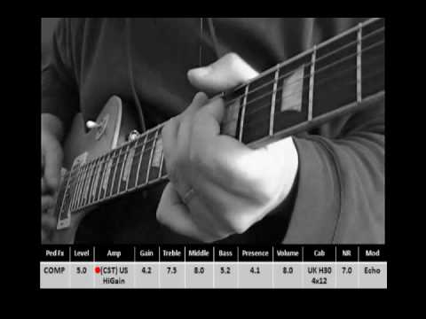 Settings for Slash AFD TONE on Vox Tonelab ST by PuroMojo Music Videos