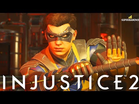 "THE BEST ROBIN COMBO EVER! - Injustice 2 ""Robin"" Gameplay (Online Ranked)"