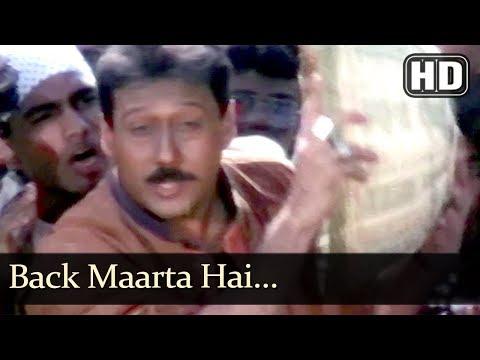 Back Maarta Hai (HD) - Police Officer Song - Karishma Kapoor - Jackie Shroff