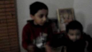 Aryan sings Riddhi de siddhi de