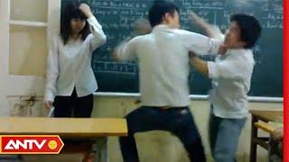 Thầy giáo trẻ nhảy khỏi bục giảng hạ gục học sinh cá biệt | Người giấu mặt | ANTV