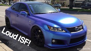 Lexus ISF Review! 430whp!