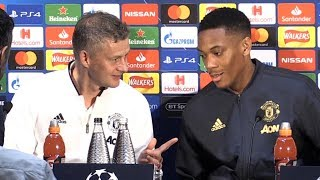 Ole Gunnar Solskjaer & Anthony Martial Full Pre-Match Press Conference - Manchester United v PSG