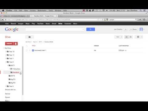Google Drive - A Paperless Classroom