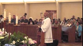 "Chaplet of Divine Mercy ""Recorded Live"" by Deacon Chip Jones - Divine Mercy Sunday 2014"