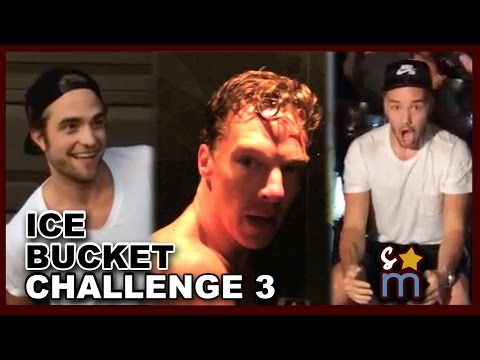 53 Celebs ALS Ice Bucket Challenge #3 - Pattinson, Benedict, One Direction, Kristen Stewart