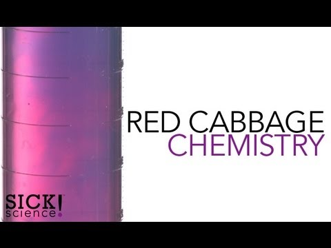 Red Cabbage Chemistry - Sick Science! #108