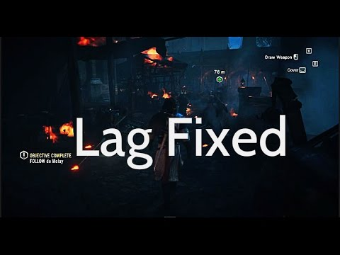 How to fix graphic lags\low fps in Assassin's Creed Unity for pc tutorial