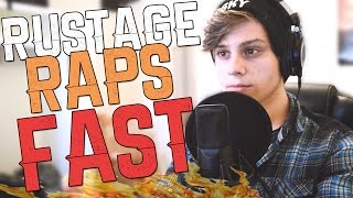RUSTAGE RAPS FAST - 301 words UNDER 1 minute