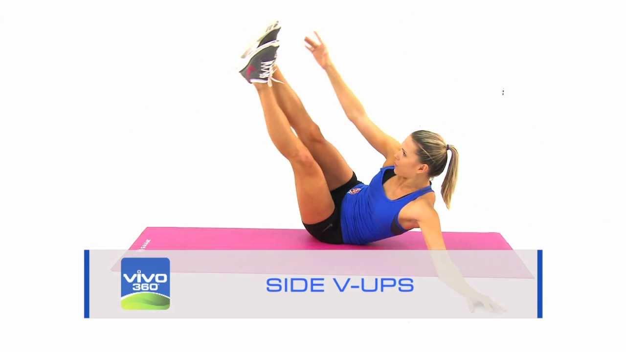 V Ups Side V-Ups