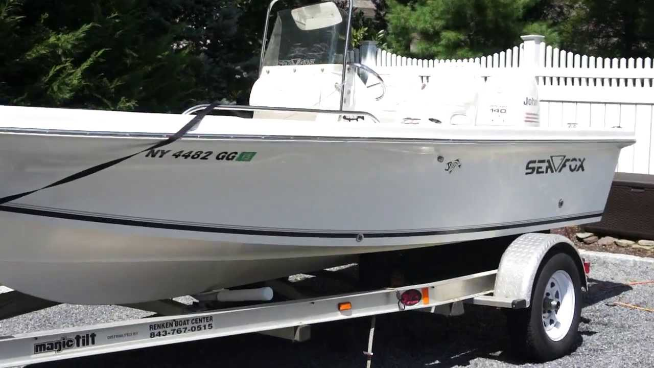 2004 Seafox 185 Bf Center Console Fishing Boat For Sale