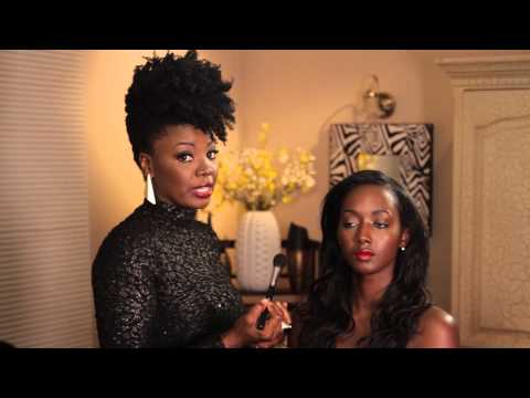 How to Apply Blush to African-American Girls : Eye Makeup Advice & More