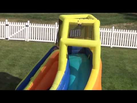 Bonzai Sidewinder Falls Water Slide Review