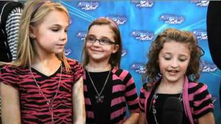 Avery & The Calico Hearts Exit Interview on America's Got Talent