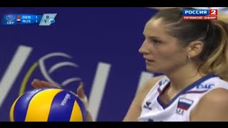 2013 EuroVolley Russia VS Germany Final Women Volleyball Gold Medal
