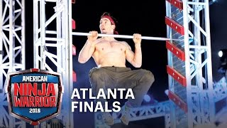 Drew Drechsel is a Real Life Ninja at the 2016 Atlanta Finals | American Ninja Warrior