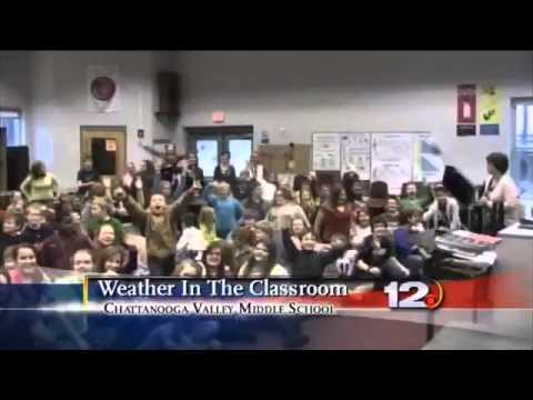 Weather in the Classroom: Chattanooga Valley Middle School