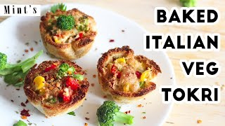 Baked Bread Katori | Bread Pizza Recipe | Evening Snacks | Party Snacks